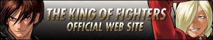THE KING OF FIGHTER OFFICIAL WEB SITE