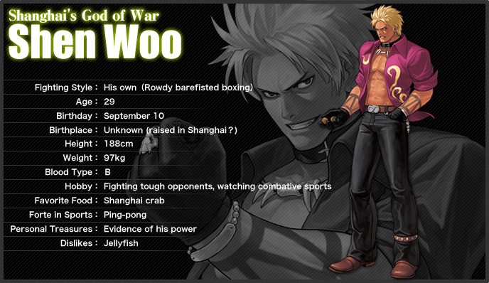 The King Of Fighters XII  [PS3 : Xbox360] Shen